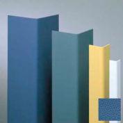 "Vinyl Surface Mounted Corner Guard, 90° Corner, 1-1/2"" Wing, 12'H, BL Bird, Vinyl W/Tape"