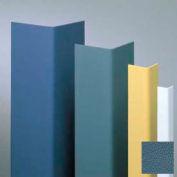 "Vinyl Surface Mounted Corner Guard, 90° Corner, 3/4"" Wings, 8'H, Windsor BL, Vinyl W/Tape"