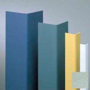 "Vinyl Surface Mounted Corner Guard, 90° Corner, 3/4"" Wings, 8'H, Sea Foam, Vinyl W/Tape"