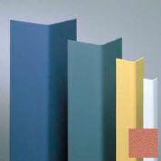 "Vinyl Surface Mounted Corner Guard, 135° Corner, 1-1/2"" Wing, 8'H, Ginger Spice, Undrilled"