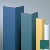 "Vinyl Surface Mounted Corner Guard, 90° Corner, 3/4"" Wings, 8' Height, Grotto, Vinyl"