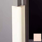 "Door Frame Guard, 3"" Wing, 4'L, Soft Peach"