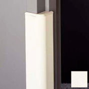 """Door Frame Guard, 3"""" Wing, 4'L, Mission White"""