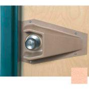 Cupped Doorknob Protector For Round Doorknobs, Eggshell