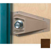 Cupped Doorknob Protector For Round Doorknobs, Brown