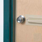Tapered Doorknob Protector For Lever-Style Doorknobs, Tan