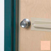 Tapered Doorknob Protector For Lever-Style Doorknobs, Eggshell