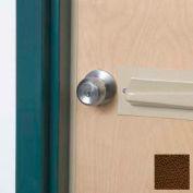 Tapered Doorknob Protector For Lever-Style Doorknobs, Brown