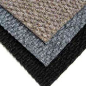 "Berber Polypropylene Carpet Tiles, 19-11/16""L X 19-11/16""W, 1/2"" H, Medium Blue"
