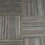 "Dura-Tiles Made From Recycled Tires, 12""L X 12""W, 3/8"" H, Charcoal Grey Earthtone"