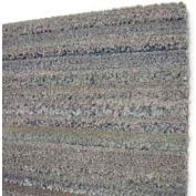 "Dura-Tile Rolls, Chenille Finish 12""W X 25'L, 3/8"" H, Charcoal Grey Earthtone"