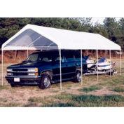 King Canopy Universal™ Canopy C81027PC, 27'L x 10'W, White