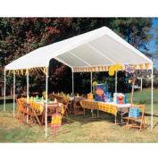 "King Canopy Universal™ Canopy C81020PC, 20'L x 10' 8""W, White"