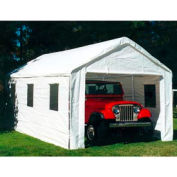 """Universal™ Enclosed Canopy With Windows 20'L x 10'8""""'W - White"""
