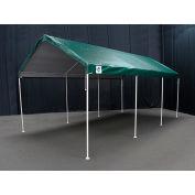 King Canopy™ C81020PCG Universal 8 Leg Canopy 10'L x 20'W Green