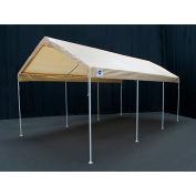 King Canopy™ C81020PCT Universal 8 Leg Canopy 10'L x 20'W Tan