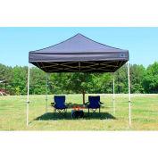 King Canopy™ FSSHST10BK Festival Instant Canopy 10'L x 10'W Black