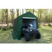 King Canopy™ G0712G 6 Leg Storage Garage 7'L x 12'W Green