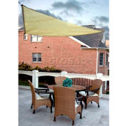 10' Triangle Yellow Sun Shade Sail