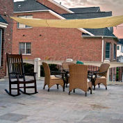 16' Quadrilateral Yellow Sun Shade Sail