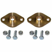 "Power-Flo® 3/4"" Sweat Flange PFF75BSP - (Pair) Bronze"