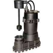 "Power-Flo 1/2HP Automatic Sump Pump 115V 1-1/2"" Discharge Vertical Float Switch 20' Cord"