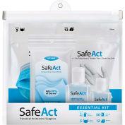 SafeAct Personal Protective Supplies Essentials Kit - Pkg Qty 20