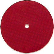 "3"" Hot Dot Center Mount Reflector, Red - Pkg Qty 100"