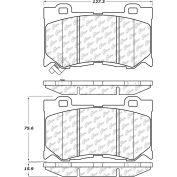 Posi Quiet Semi-Metallic Brake Pads with Hardware , Posi Quiet 104.13460