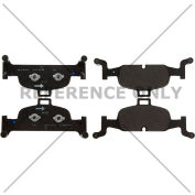 Posi Quiet Semi-Metallic Brake Pads , Posi Quiet 104.18970