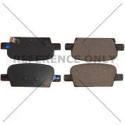 Posi Quiet Ceramic Brake Pads with Shims , Posi Quiet 105.19210