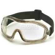 Low Profile Chemical Splash Goggle , Clear Anti-Fog Lens - Pkg Qty 12