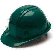 Green Cap Style 4 Point Snap Lock Suspension Hard Hat - Pkg Qty 16