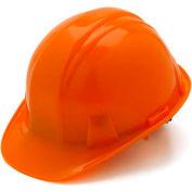Orange Cap Style 6 Point Snap Lock Suspension Hard Hat - Pkg Qty 16