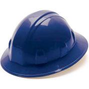 Blue Full Brim Style 6 Point Ratchet Suspension - Pkg Qty 12