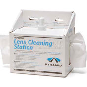 Lens Cleaning Station, 8oz Cleaning Solution, 600 Tissues - Pkg Qty 10
