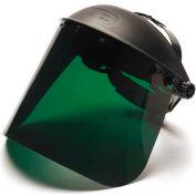 "Dark Green-Petg Shield 8"" X 15""  /.040 Thick, Shield Only - Pkg Qty 10"
