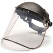 Clear-Aluminum Bound Pc Face Shield Only