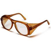 Monitor™ Eyewear Clear Lens , Carmel Frame - Pkg Qty 12