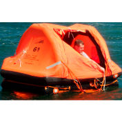 Sea Safe 6 Person Pro-Light Offshore Self Righting In Container 1/Case - DX06SCR