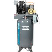 Atlas Copco CR5-TS-80GV-460V 3PH-PS 5HP Two-Stage Vertical Compressor - 175 PSI - 460 Volts
