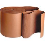 "6 Single Face Corrugated Kraft ""A"" Flute Corrugated - 250' / Roll"