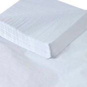"Tissue Paper, 10#, 20"" x 30"", White, 480 Pack"