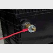"Quick Cable 160408-025 PVC Solderless Ring Terminal, 1/2"" Stud, 25 Pcs"