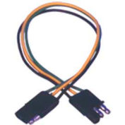 """Quick Cable 235401-025 12"""" Trailer Wiring, 3 Pole M/F, 25 Pcs"""