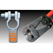 Quick Cable 4060-050P Positive Straight Clamp, 250MCM, 50 Pcs
