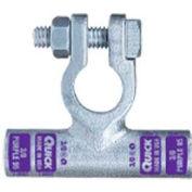 Quick Cable 4320-050P Flag Connector Crimp Positive, 2/0 Gauge, 50 Pcs