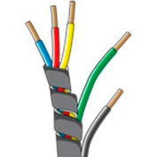 """Quick Cable 503153-100 Spiral Wrap Loom, 3/8"""" I.D., 100 Pcs"""