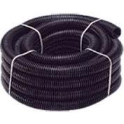 """Quick Cable 505208-150 Black Polythnene Split Loom, 1-1/2"""" I.D., 150 Ft"""