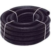 "Quick Cable 505210-050 Black Polythnene Split Loom, 2"" I.D., 50 Ft"